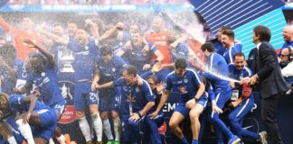 English FA ditch champagne for cup winners