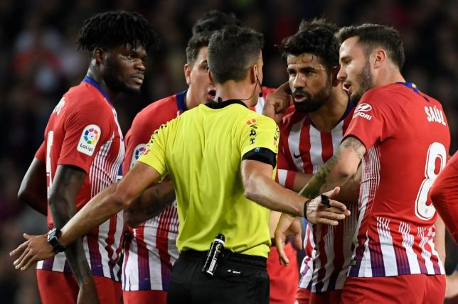 Costa banned for eight games for insulting referee