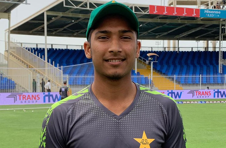 Young pacer Husnain feels difficult bowling in English conditions