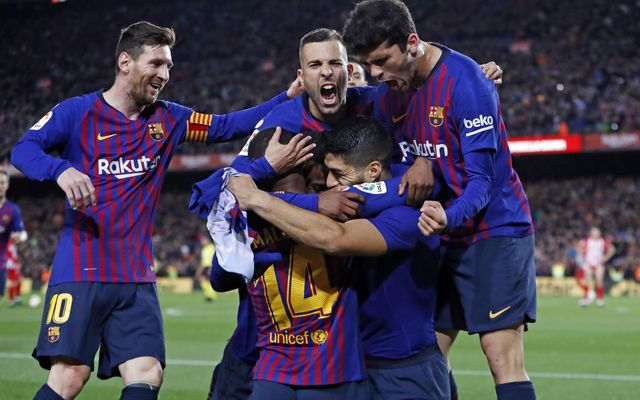 Suarez, Messi late-show sinks Atletico after Costa sees red