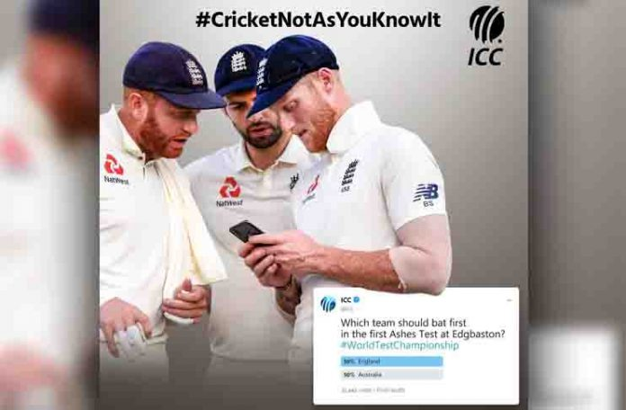 Twitter poll to decide toss in World Test Championship: ICC tweets