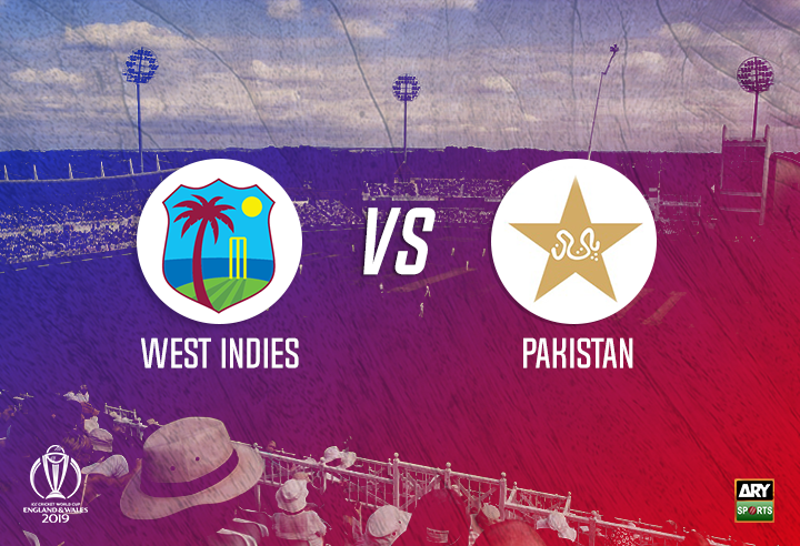 West Indies field first against Pakistan after winning the toss