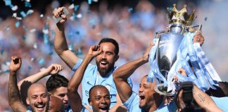 Ruthless Manchester City survive scare to retain title in style