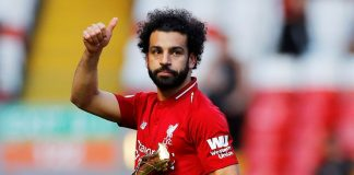 Liverpool's Mane, Salah share Golden Boot with Arsenal's Aubameyang
