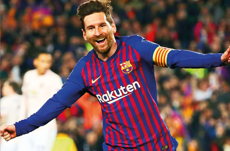 Messi Doubling Down On Champions League Pledge For Barca