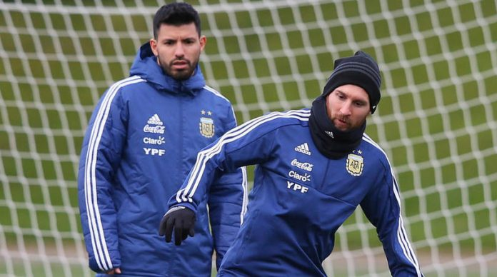 Messi and Aguero in Argentina Copa America squad