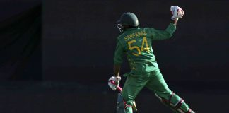 Sarfraz Ahmed celebrates his 32nd birthday