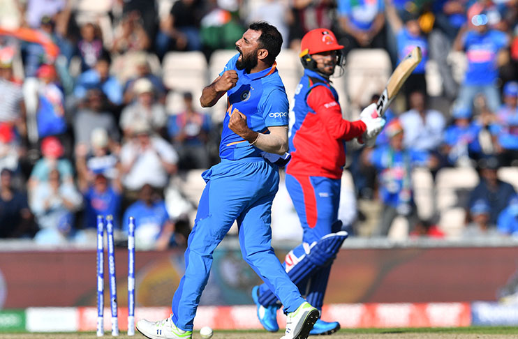 Shami hat-trick seals India win against Afghanistan in World Cup thriller