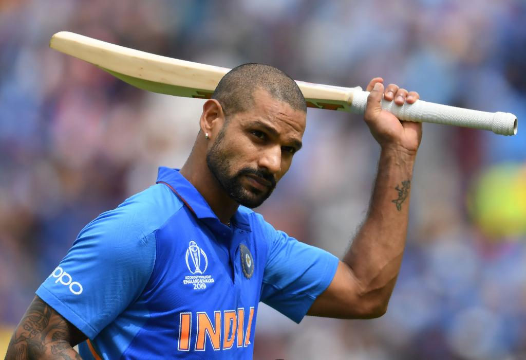 Dhawan ton leads India to 352-5 against Australia