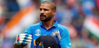 Shikhar Dhawan ruled out of the World Cup