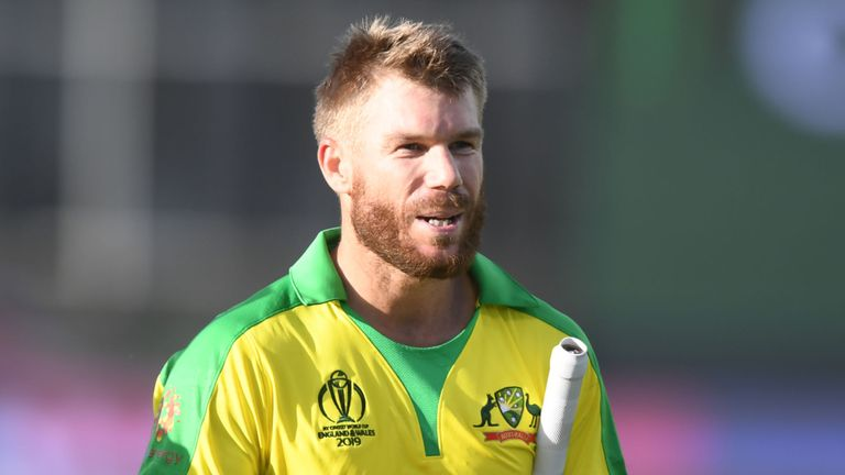 Net bowler in hospital after being hit on head by Warner shot