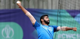 Bumrah won't relax in nets despite bruising team mate Shankar