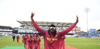 Windies win but Gayle fails in World Cup swansong