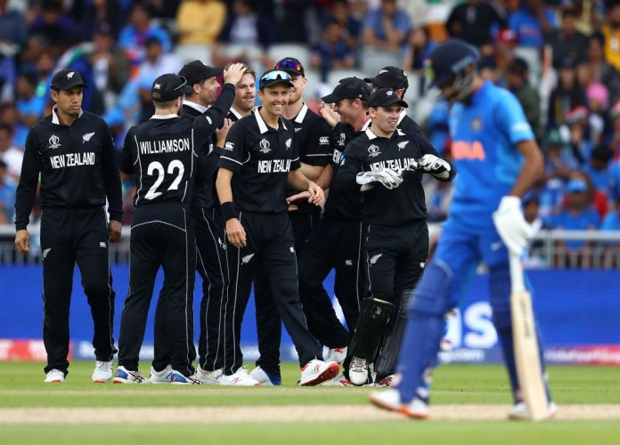New Zealand stun India to reach second consecutive World Cup final