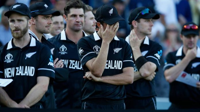 New Zealand players make sombre homecoming after World Cup blow