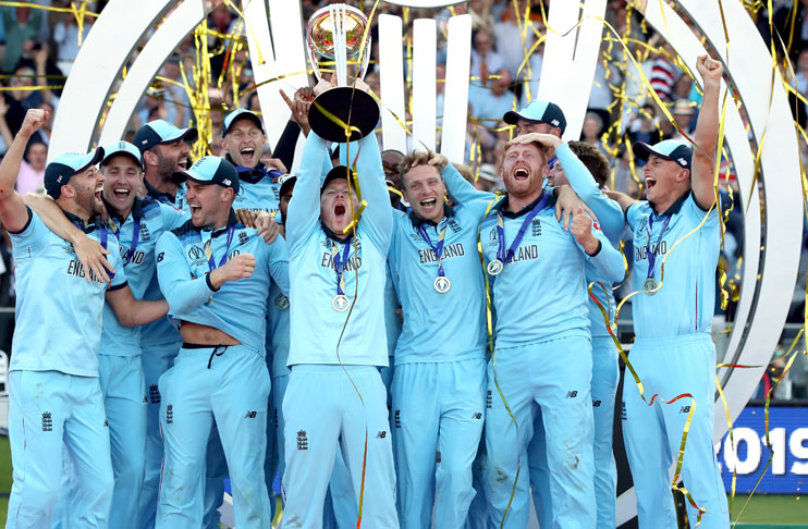 Former cricketers congratulate England for maiden World Cup title