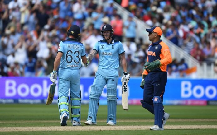 England end India's unbeaten run to revive semi-final hopes