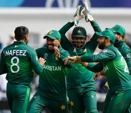 Who is Pakistan going to play in the next few years?