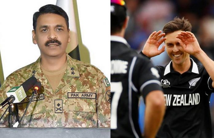 DG ISPR congratulates New Zealand on beating India