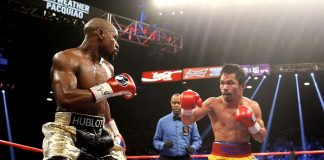 Want to stay relevant? Fight me, Pacquiao tells Mayweather