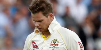 Smith out of second Ashes Test with concussion