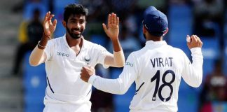 Bumrah five-wicket haul, India thrash Windies in first test