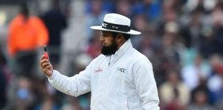 Aleem Dar equals Steve Bucknor's record