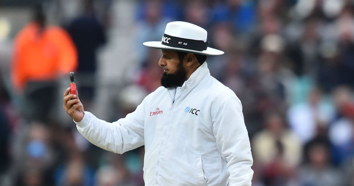 Aleem Dar equals Steve Bucknor's record for most Test matches as an umpire