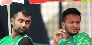 Shakib asks teammate Tamim to take a break