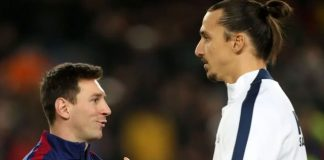Messi, Ibrahimovic