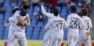 India in command against West Indies after third day