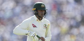 'Frustrated' Khawaja to lead Australia in tour match