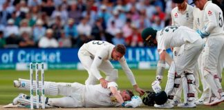 Archer's 'heart skipped a beat' after ball hit Smith's neck