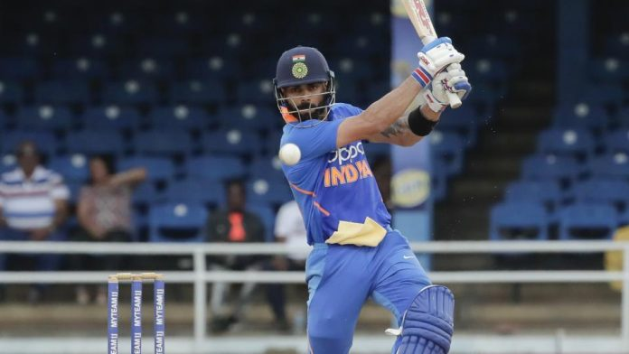 Kohli leads India to victory and overshadows Gayle swansong