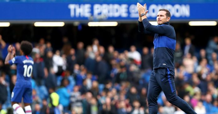 Lampard gets first home league win as Chelsea beat Brighton