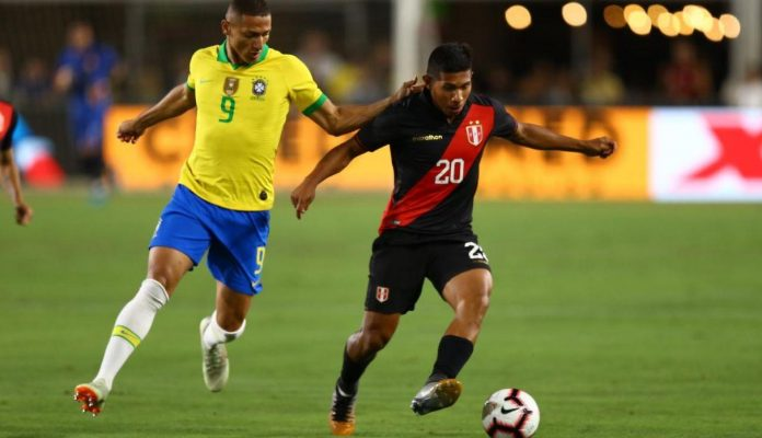 Late goal gives Peru 1-0 win over Brazil in LA