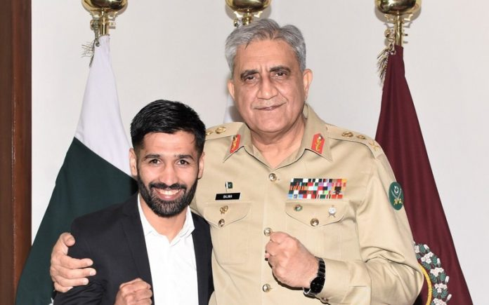 'Talent like you is our pride,' COAS Bajwa says to Muhammad Waseem