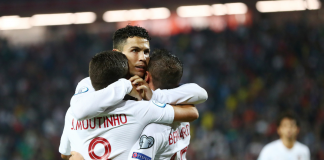 Ronaldo hits four for Portugal in 5-1 rout of Lithuania