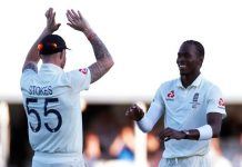Stokes and Archer promise bright England Test future