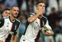 Ramsey and Ronaldo earn Juventus nervy win over Verona