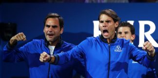 Federer, Nadal win as Team Europe take 7-5 lead in Laver Cup