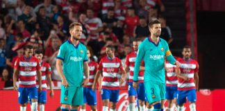 Granada stun dismal Barca to go top of La Liga