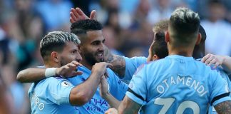 Man City smash eight past Watford, VAR drama in Spurs defeat