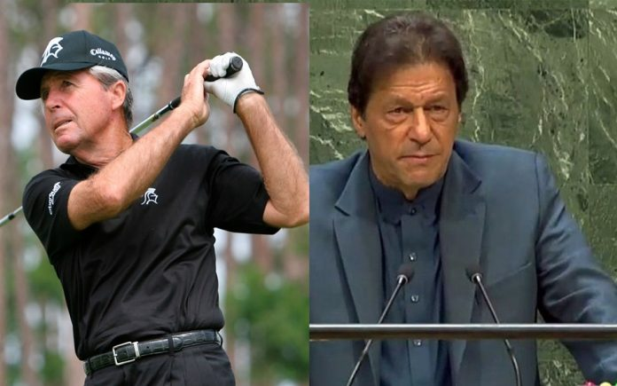 'You are one of my heroes' legendary golfer Player sends message for PM Khan