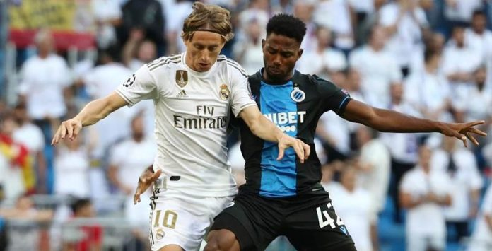 Real Madrid fight back to draw 2-2 with Bruges