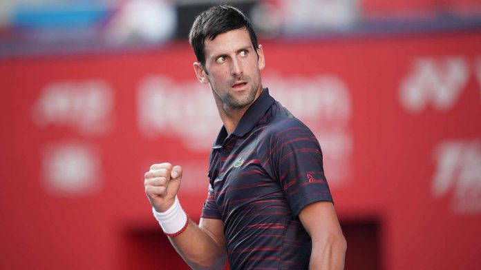 Djokovic downs Millman to win his first Japan Open title