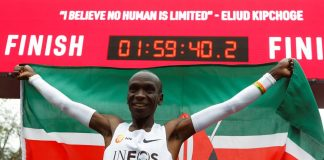 Astonishing Kipchoge