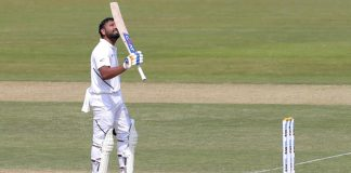 Rohit hits hundred as India make South Africa toil
