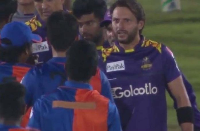 Watch: Afridi schooled young Afghani bowler for abusing Amir