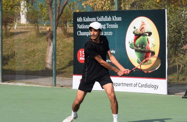 Kulsoom Saifullah Khan Ranking Tennis Championship continues in full swing